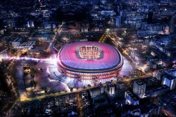 Nou Camp, estadio del Barcelona.