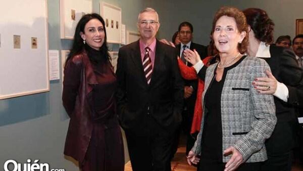María Laura,Ricardo Salinas y María Cristina Cepeda