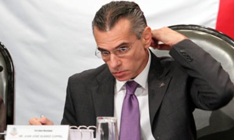Pemex dijo que su director, Suárez Coppel, sólo ocupó un lugar en el Consejo de Repsol de manera extraordinaria. (Foto: Notimex)