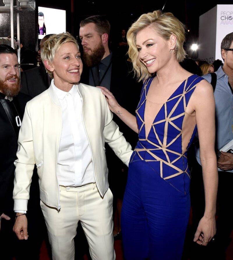 """La actriz Portia de Rossi nunca se enfada cuando la gente se le acerca para decirle que es una """"persona horrible"""" al confundirla con su personaje en la serie &#39Scandal&#39."""