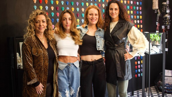 Miriam Dichi, Vanessa Attie, Daniela Magun y Estrella Jafif 2.jpg