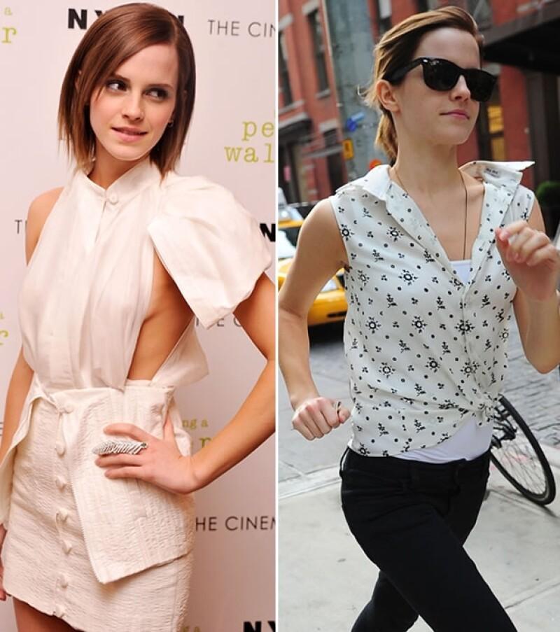 La joven actriz se ha distinguido por sus cambiantes estilos reflejando en ocasiones a una adolescente y en otras más a una mujer sofisticada.