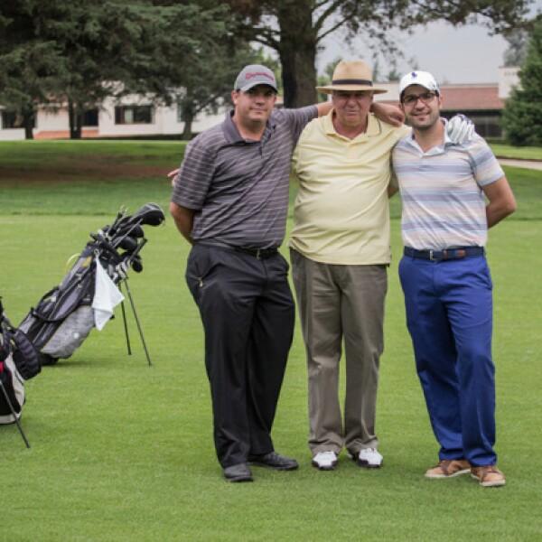 Federico Azuara, Pedro Azuara y Juan Carlos Autrique