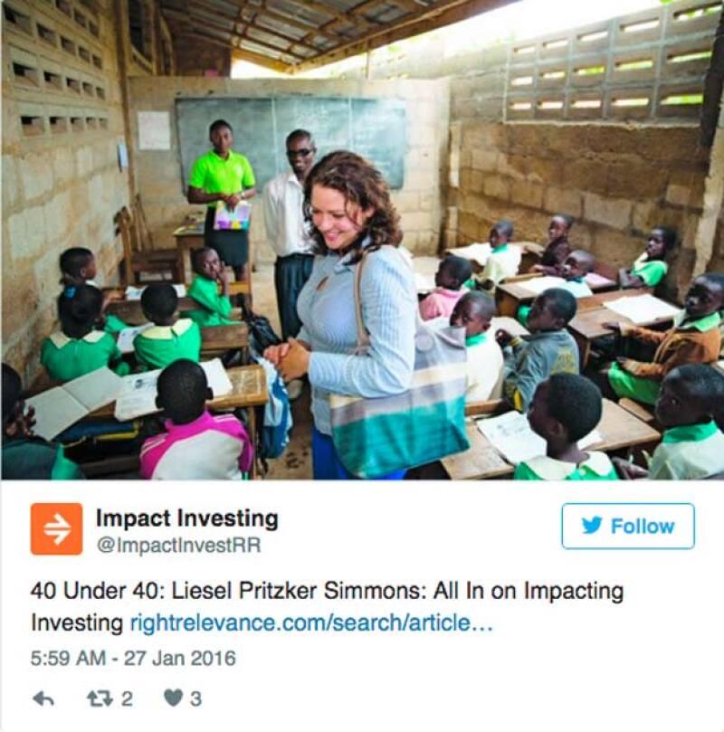 Así es como se ve actualmente Liesel, quien está dedicada a buscar oportunidades para incrementar su fortuna-