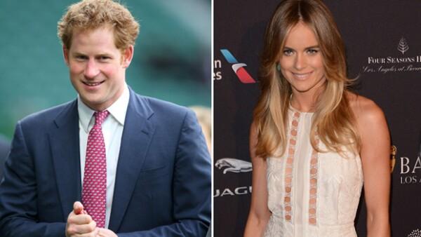 A pesar de que su relación terminó hace tiempo, el príncipe Harry quiso apoyar a Cressida Bonas en su performance en el teatro.