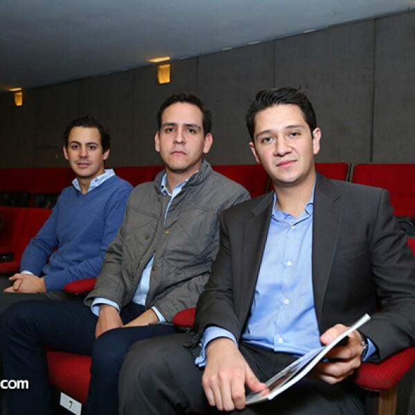 Jaime Creixell, Alejandro Canales y Alberto Javier García