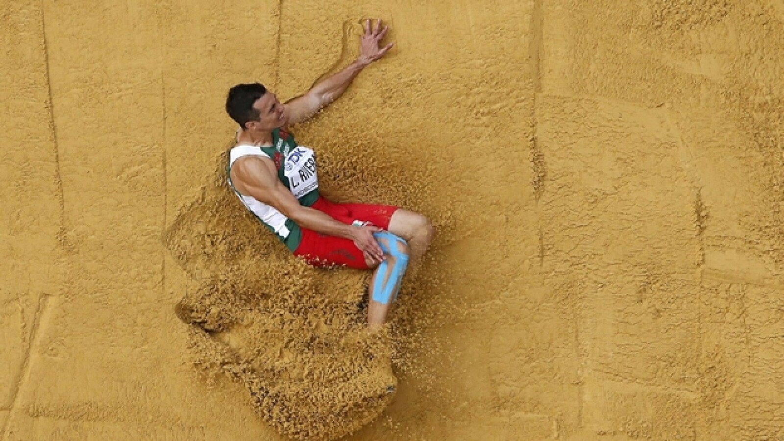 Luis Rivera medalla bronce Mundial de Atletismo Moscu 2013