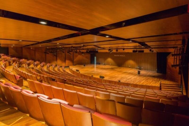 Interior palacio de la música
