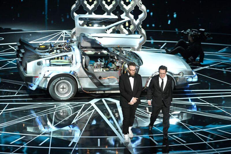 Seth Rogen y Michael J Fox