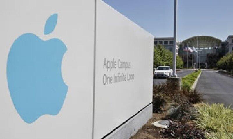 El pasado 20 de agosto, Apple alcanzó un valor bursátil de 623,551 mdd. (Foto: AP)