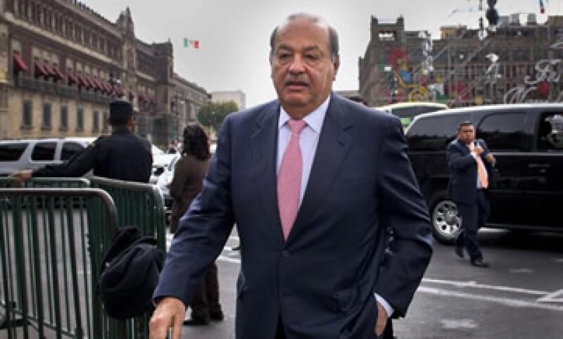 Grupo Carso negó que Carlos Slim sea amigo del empresario italiano Alessando Proto. (Foto: Cuartoscuro)