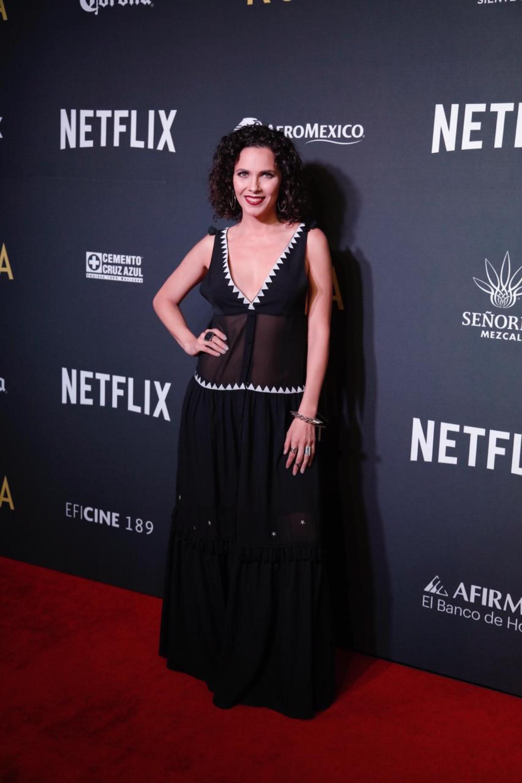 Perla Encinas, actriz.