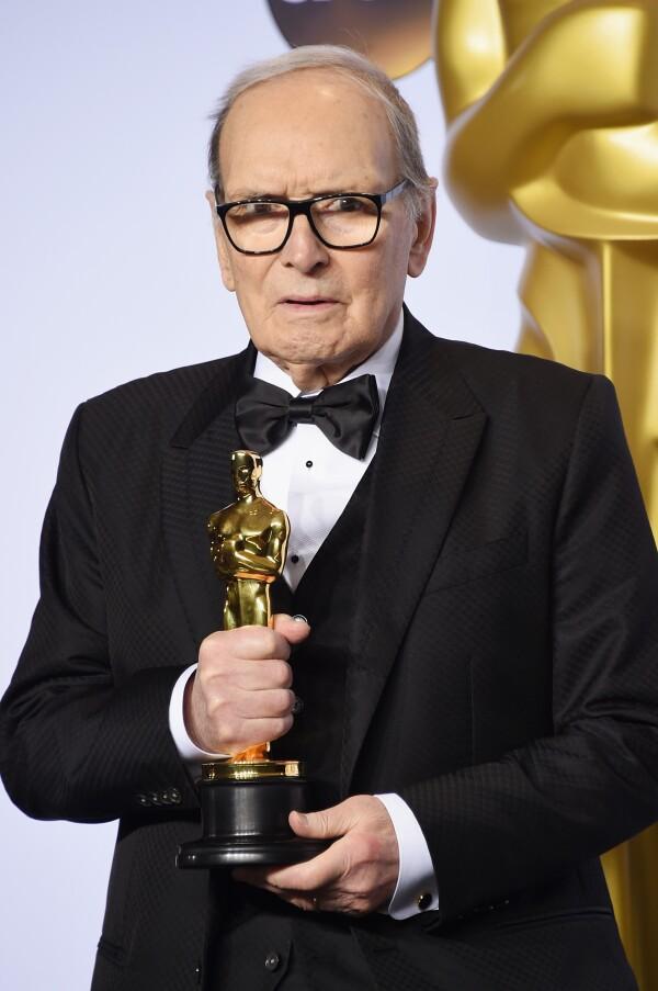 Ennio ganó el Premio Oscar a Mejor Banda Sonora en 2016