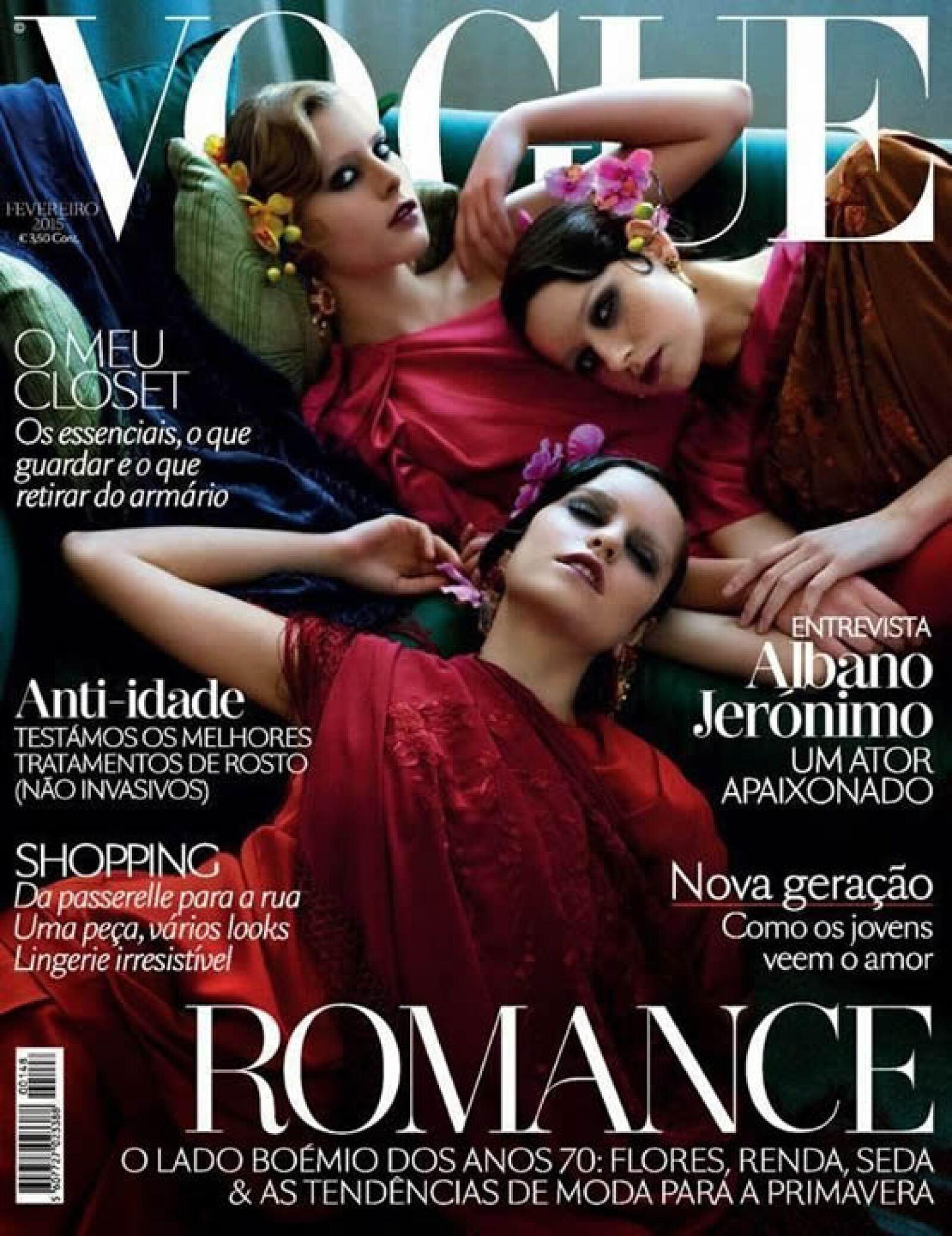 Sandra Martins, Marianne Bittencourt y Catarina Santos, son la portada de Vogue Portugal.