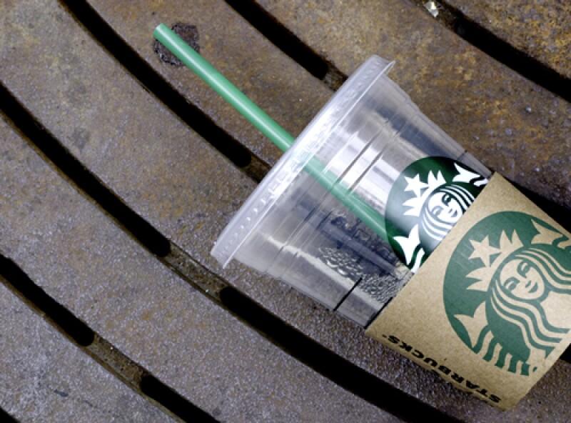 Starbucks popote