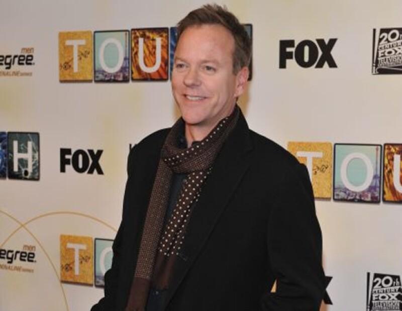 """Por su trabajo en """"24"""", Kiefer Sutherland recibió varios premios Emmy, Golden Globe y SAG Awards."""