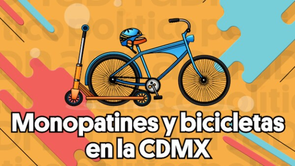 #VIDEO | Monopatines y bicicletas en la CDMX