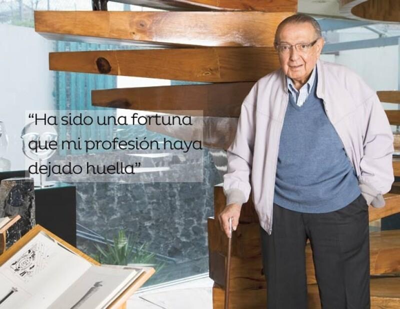 El arquitecto nació el 16 de abril de 1919 en la ciudad de México.