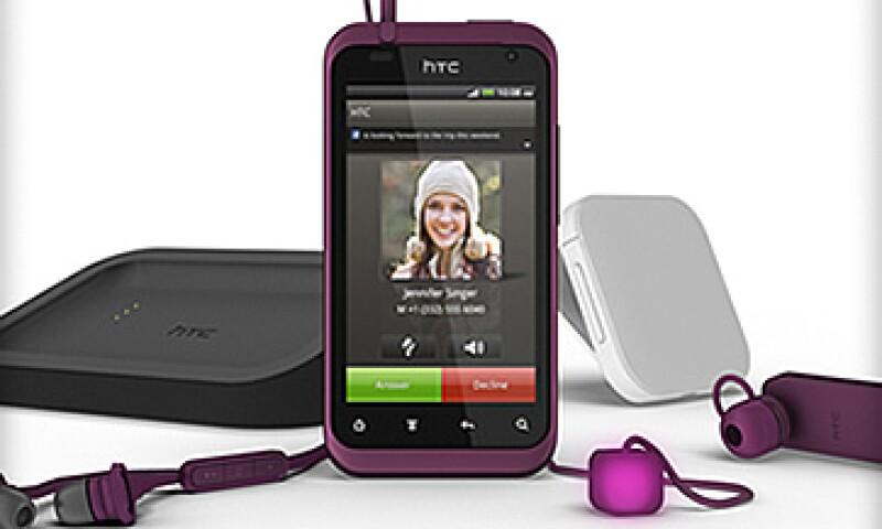 La empresa taiwanesa alcanzó un 9% del mercado mundial de teléfonos inteligentes el pasado trimestre. (Foto: Cortesía HTC)