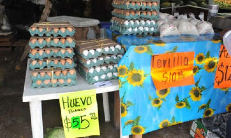 El precio del huevo ha aumentado 40.01% desde septiembre del año pasado.  (Foto: Notimex)