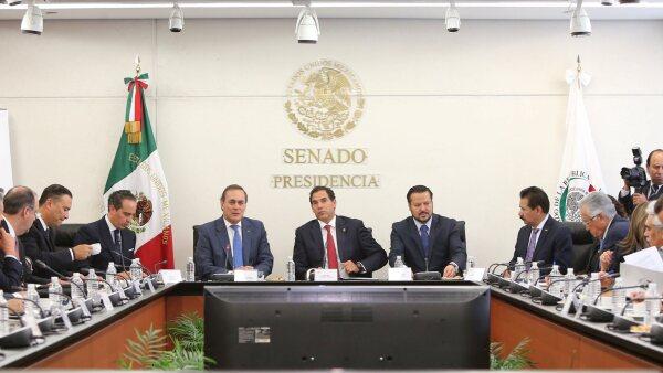 Juan Pablo Castañon Consejo coordinador empresarial Senado TLCAN