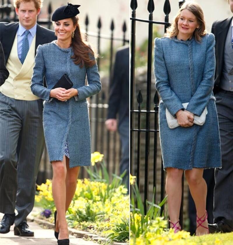 Kate Middleton y una invitada usaron el mismo abrigo Missoni de la temporada Otoño-Invierno 2010.