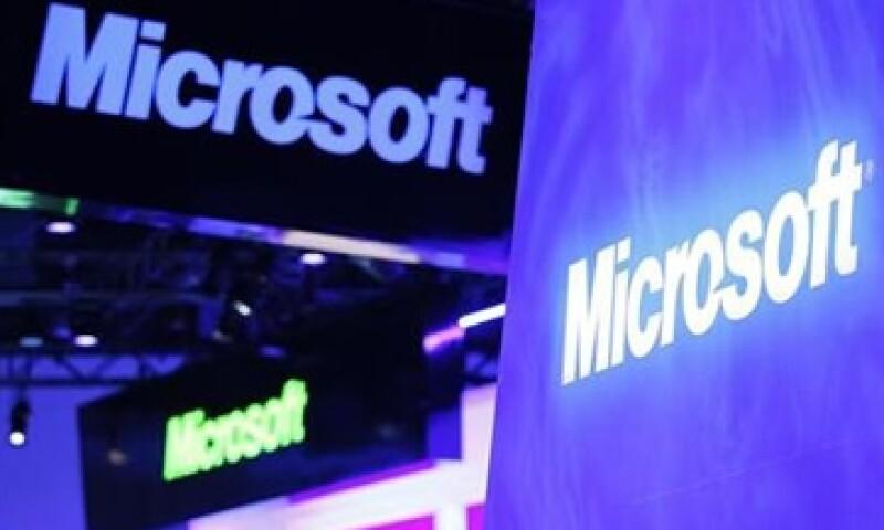 La utilidad de las acciones de Microsoft también bajó a 60 centavos por título en el tercer trimestre fiscal.  (Foto: Reuters)
