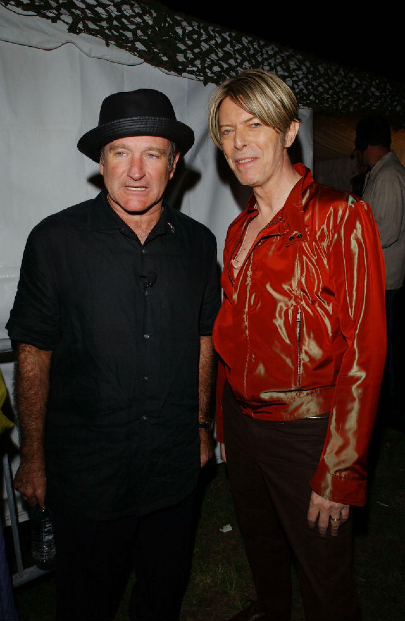 David Bowie vivió una de las mejores experiencias de su vida al compartir escenario con Robin Williams hace poco más de una década.