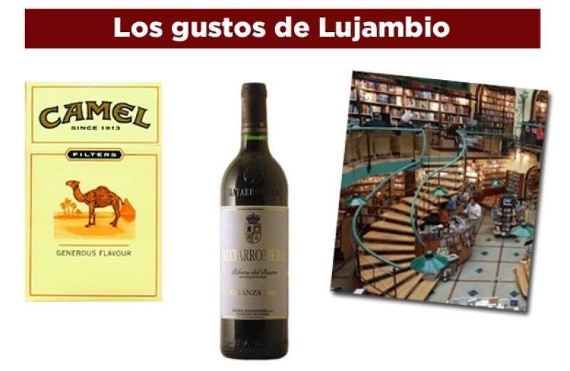 Lujambio es muy convencional y metódico en sus placeres.