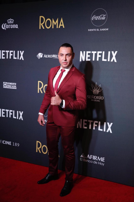 Latin Lover, actor y luchador.