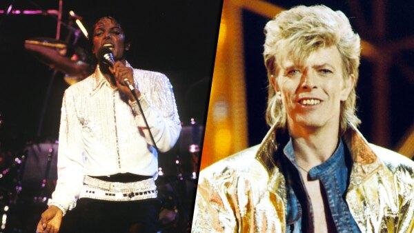Michael Jackson y David Bowie