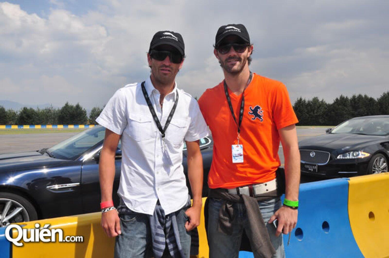 David Gallardo y Miguel Ángel Vélez