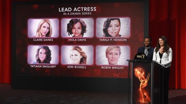 Los actores Lauren Graham y Anthony Anderson anunciaron este jueves las nominaciones para la ceremonia número 68 el próximo 18 de septiembre en el Microsoft Theater de Los Ángeles.