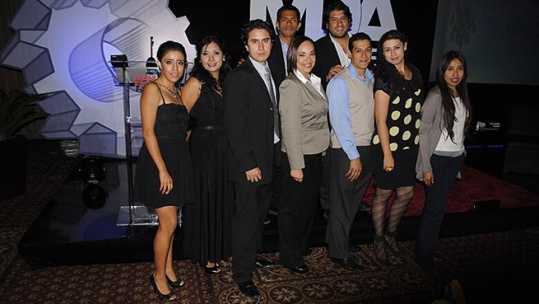 El equipo de la Revista Manufactura.