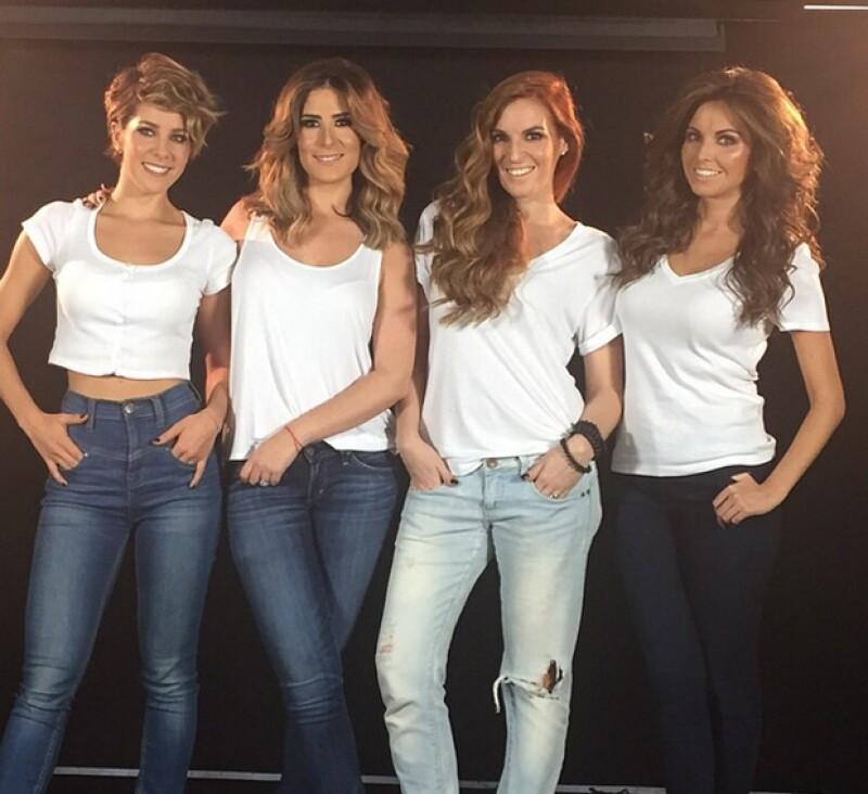 Karla, Melissa, Angie y Regina reaparecen este lunes ante la prensa para hablar de su reencuentro, su nuevo disco y su próxima fecha en concierto en el Teatro Metropólitan.