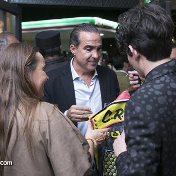 Maricruz Arrubarena, Xavier López Ancona y Kike Guasp