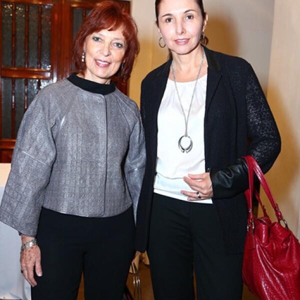 Silvia Singer y Marcela González