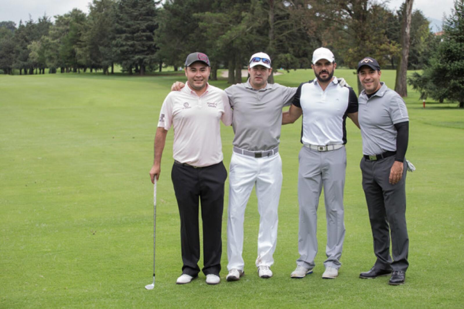 Manuel Alejandro Arenas, Enrique Gastelum, Jorge López y Carlos Vargas