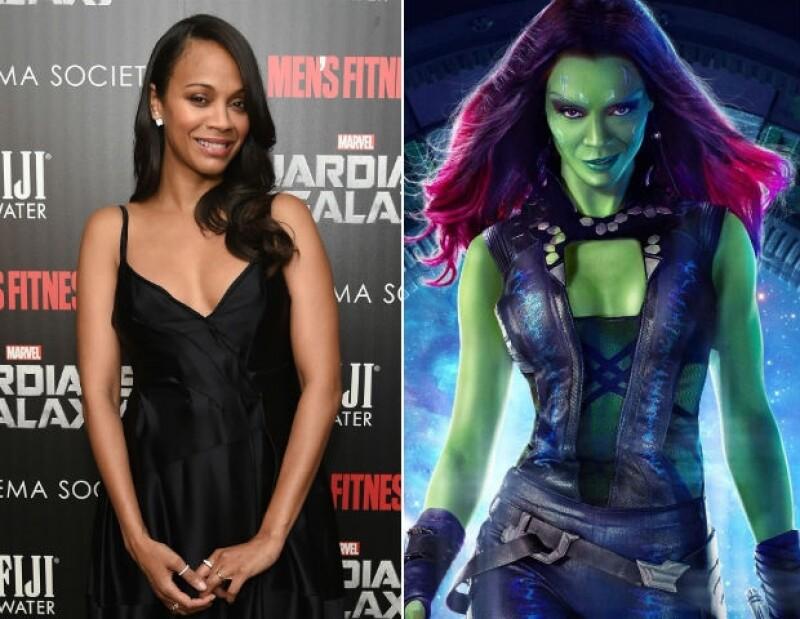 Ser una heroína con actitud y de color verde es lo que te recomendamos este Halloween.
