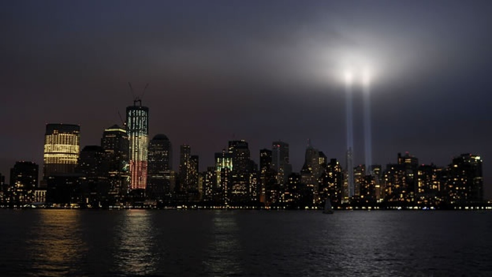 tributo de luz aniversario torres gemelas nueva york