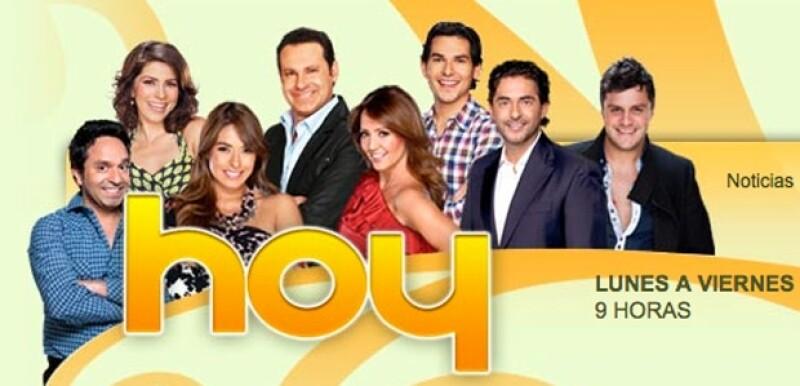 El programa matutino del canal 2 no transmitió en vivo debido a que suspendieron labores en Televisa San Ángel por motivos de seguridad.
