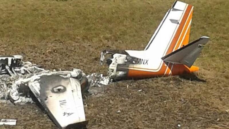 Una de las aeronaves que fueron derribadas en Venezuela y que podrían ser mexicanas