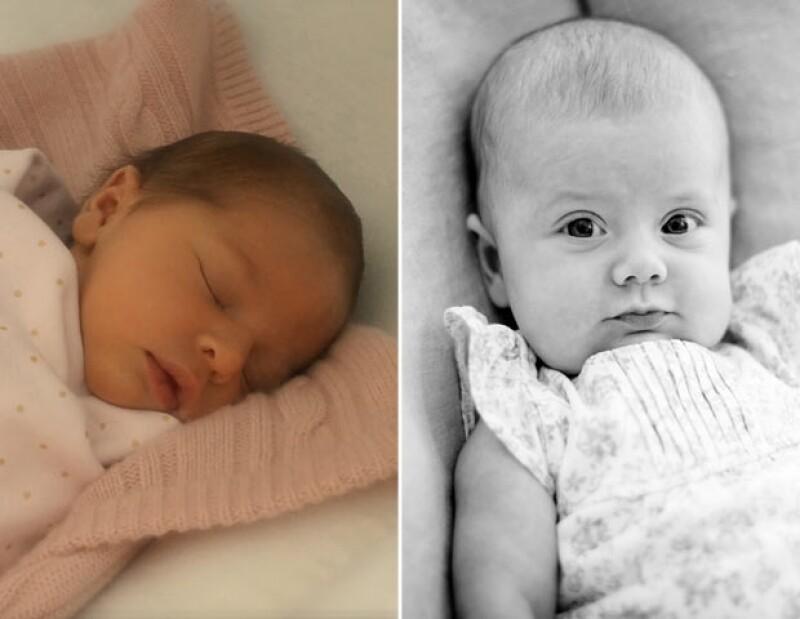 Estas son de las primeras fotos de las Princesitas recién nacidas.