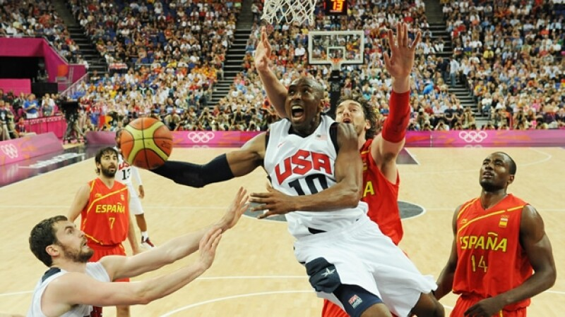 españa juega contra estados unidos en la final del basquetbol de los olimpicos
