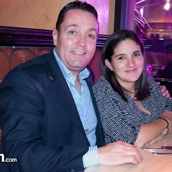 Christian Gurría y Fernanda Torres