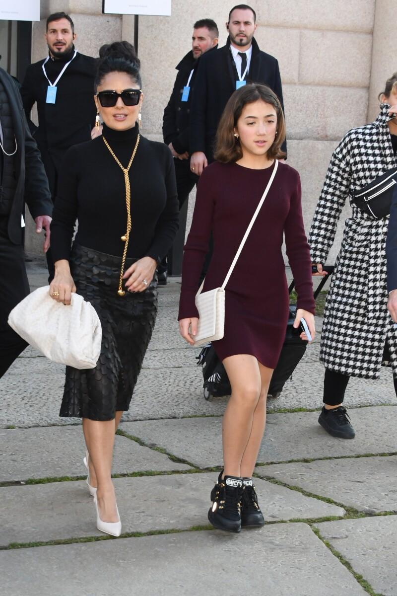 Salma Hayek y Valentina Paloma