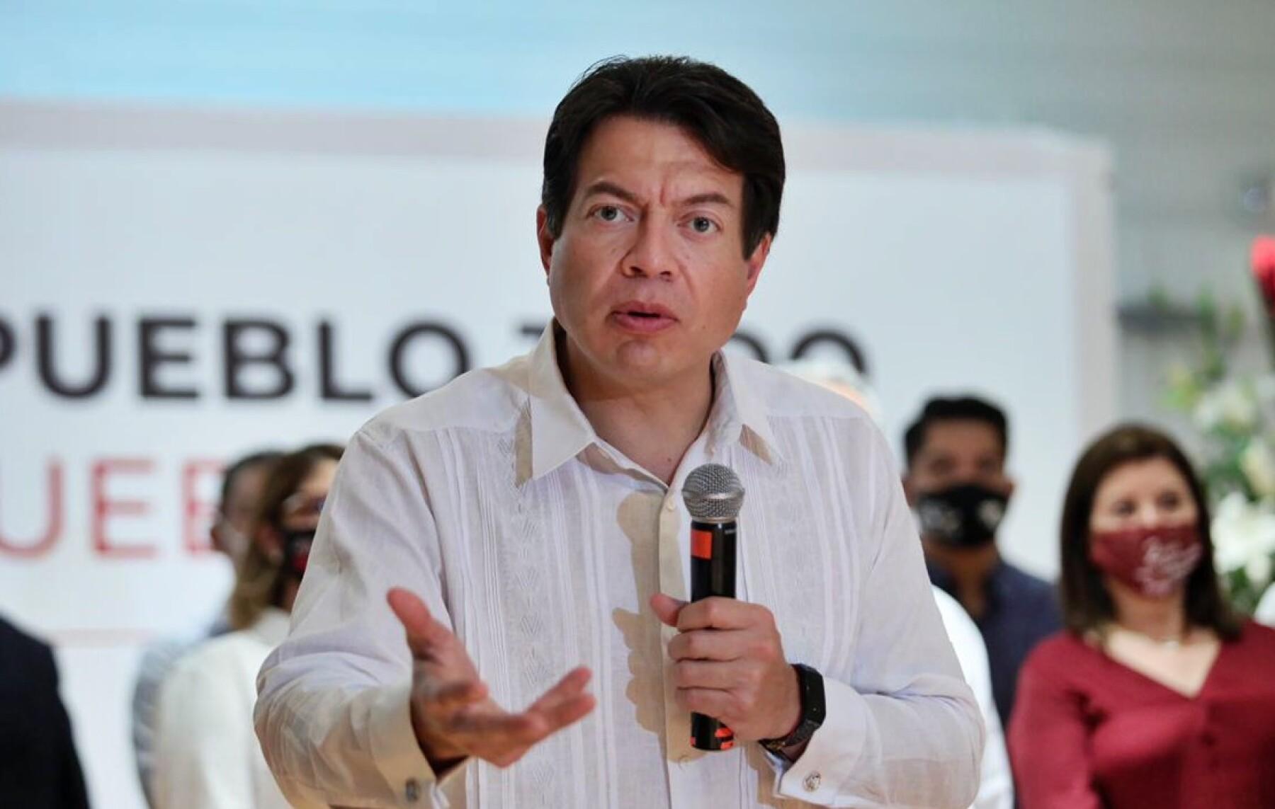 Mario Delgado advierte intentos por tirar la encuesta para dirigencia de  Morena