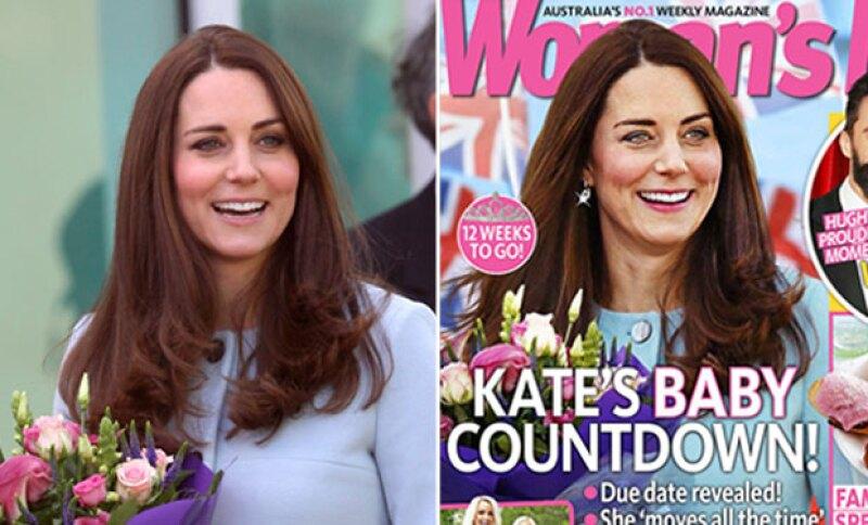 La Duquesa de Cambridge es la nueva víctima del Photoshop al aparecer en la portada de una revista viéndose muy diferente a como luce en la vida real.