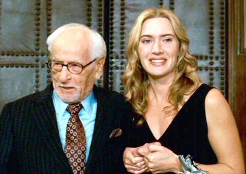 Kate Winslet compartió escena con él en The Holiday, también protagonizada por Cameron Diaz y Jude Law.