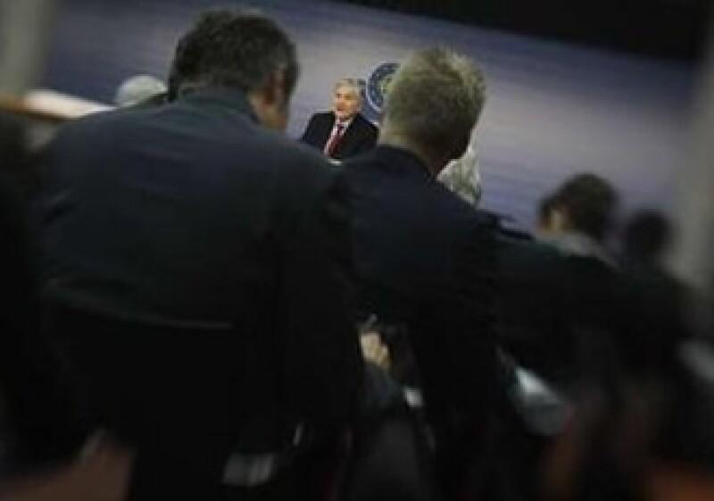 Jean Claude Trichet se abstuvo de comentar sobre las presiones para la ampliación de su programa de compra de bonos. (Foto: Reuters)
